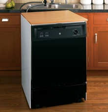 Portable Dishwasher Black