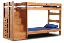 Pinecraft Staircase Bed